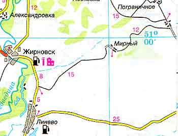 Жирновск где находиться