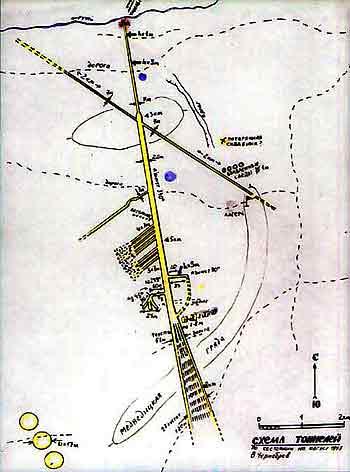 Схема тоннелей Медведицкой