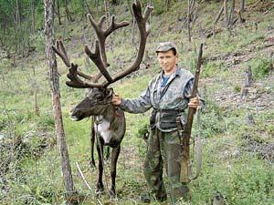Глава семьи якутов Кеша Непряхин пропал в тайге вместе с родичами? (Фото 2005 года.)