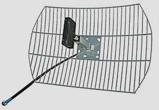 Сравните изображения дольмена и современной антенны.
