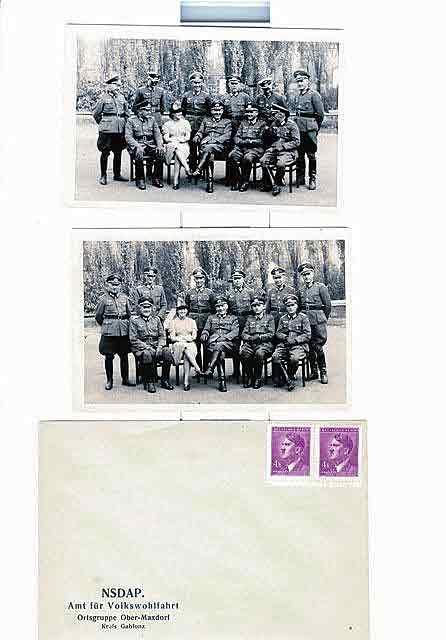 Офицеры Вермахта, отвечавшие за набор добровольцев для переброски на антарктическую базу.